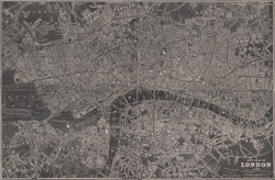 New plan of London 1837